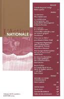 L'Action nationale : couverture du numéro 1, XCIV, janvier 2004.