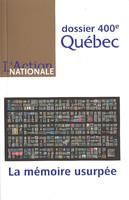 L'Action nationale : couverture du numéro de novembre-décembre 2008.